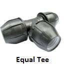 hdpe equal tee